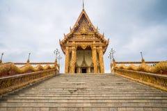 Kerk in tempel, Thailand Stock Afbeeldingen