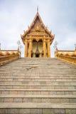 Kerk in tempel, Thailand Royalty-vrije Stock Foto's