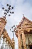 Kerk in tempel, Thailand Royalty-vrije Stock Afbeelding