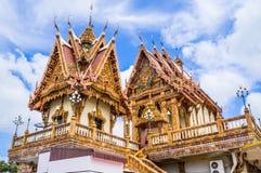 Kerk in tempel, Thailand Stock Foto's