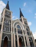 Kerk in Thailand Stock Afbeelding
