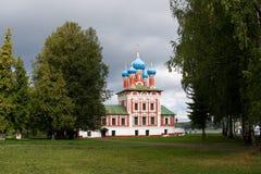 Kerk in Uglich Royalty-vrije Stock Foto's