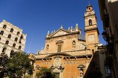 Kerk in Valencia Royalty-vrije Stock Afbeeldingen