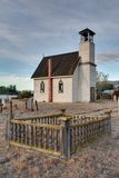 Kerk in Vallei Nicola Stock Foto's