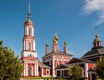 Kerk van Aartsengel Michael in Suzdal, Rusland royalty-vrije stock afbeelding