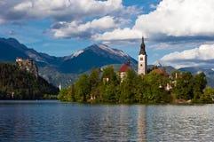 Kerk van Afgetapt Stock Foto