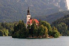 Kerk van Afgetapt Stock Afbeelding