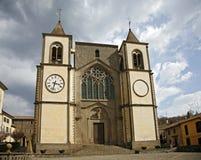 Kerk van al Cimino van San Martino. Lazio. Stock Foto
