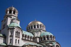 Kerk van Alexandrian Nevsky Royalty-vrije Stock Foto