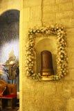 Kerk van alle naties, het altaardetail, Jeruzalem, Gethsemane, Israël royalty-vrije stock foto