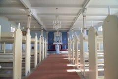 Kerk van Alluitsoq, Groenland stock afbeeldingen