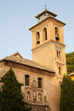 Kerk van Ana van de Kerstman in dichte omhooggaand van Granada Royalty-vrije Stock Foto's