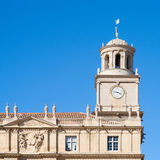 Kerk van Arles Royalty-vrije Stock Afbeelding