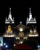 Kerk van Baños, Ecuador stock fotografie