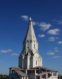 Kerk van Beklimming in Kolomenskoye, Moskou stock foto's