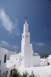 Kerk van Binibeca in Menorca Royalty-vrije Stock Foto's