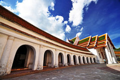 Kerk van boeddhisme in Thailand Stock Fotografie