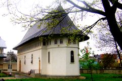 Kerk van Bogdan Monastery, Moldavië, Roemenië Stock Fotografie