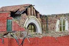Kerk van Buonacompra Stock Afbeelding