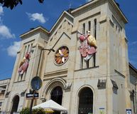 Kerk van Carmen DE Apicalà ¡ (Colombia) Stock Foto's