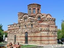Kerk van Christus Pantocrator, Nesebar Royalty-vrije Stock Fotografie