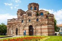 Kerk van Christus Pantocrator, Nesebar, Bulgarije Stock Foto