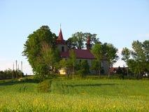Kerk van Ciagowice, Polen. Royalty-vrije Stock Foto's