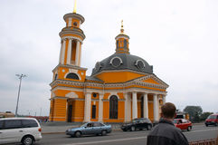 Kerk van Cristmas Stock Foto's