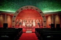 Kerk van de Aankondiging, Cranston, RI stock foto's