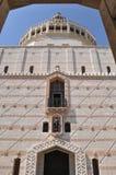 Kerk van de Aankondiging, Nazareth stock foto's