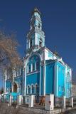 Kerk van de Beklimming Ekaterinburg Rusland Stock Foto