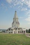 Kerk van de Beklimming in Kolomenskoye stock foto's