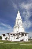 Kerk van de beklimming in Kolomenskoye. Moskou Stock Afbeelding