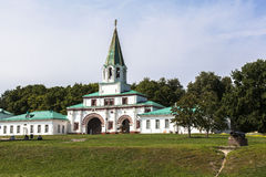 Kerk van de Beklimming, Kolomenskoye, Rusia royalty-vrije stock afbeeldingen