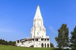 Kerk van de Beklimming, Kolomenskoye, Rusia Royalty-vrije Stock Afbeelding