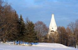 Kerk van de Beklimming, Nationaal Museum Kolomensk Stock Afbeelding