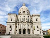 Kerk van de CIA ½ van Santa Engrï ¿ - Lissabon, Portigal stock foto's