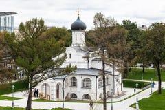 Kerk van de Conceptie van Heilige Anne in Moskou Royalty-vrije Stock Afbeeldingen