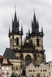 Kerk van de Dame Before Tyn Stock Afbeelding