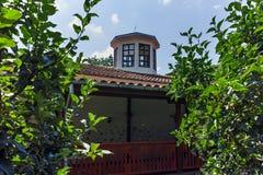 Kerk van de 19de eeuw Heilige George als de Kerk van Reverend Stoyna bij Zlatolist-Dorp, Bulgarije wordt bekend dat royalty-vrije stock foto's
