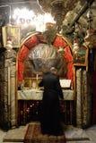 Kerk van de Geboorte van Christus in Bethlehem Stock Foto