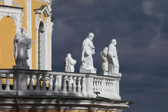 Kerk van de Geboorte van Christus van Heilig Virgin, het gebied van Moskou, vil Stock Afbeelding