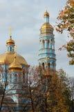Kerk van de Geboorte van Christus van Moeder van God stock fotografie