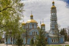 Kerk van de Geboorte van Christus van Moeder van God Stock Foto