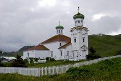 Kerk van de Heilige Beklimming Stock Afbeeldingen