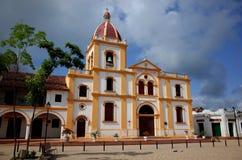 Kerk van de Heilige Conceptie, Mompox stock afbeeldingen