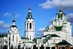 Kerk van de Heilige Drievuldigheid in Yoshkar-Ola Stock Afbeelding