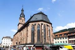 Kerk van de Heilige Geest in Heidelberg royalty-vrije stock foto's