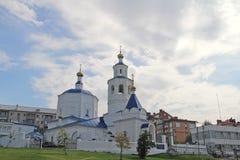 Kerk van de Heilige Martelaar Paraskeva Pyatnitsa Kazan stock foto