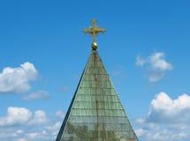 Kerk van de Heilige Moeder van God stock foto's